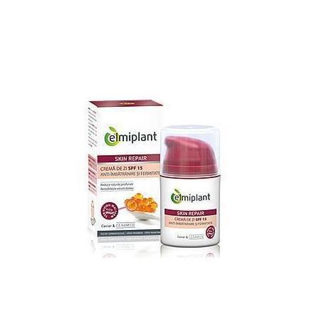 Crema anti-imbatranire de zi SPF 15 50ml Elmiplant