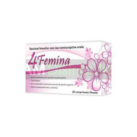 4 Femina, 28 comprimate, Zdrovit