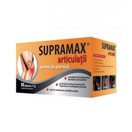Supramax articulatii Zdrovit 30plicuri aroma de piersica