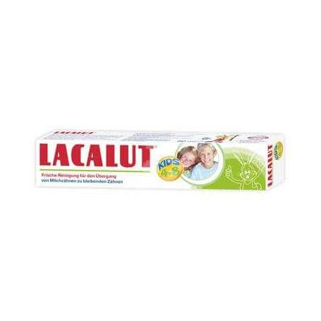 Pasta de dinti Lacalut Kids, 4-8 ani, 50 ml