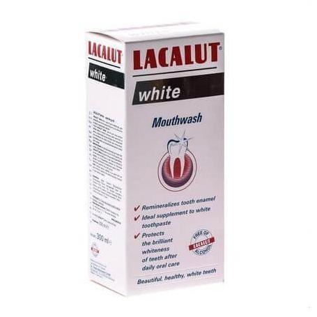 Apa de gura Lacalut White,300 ml