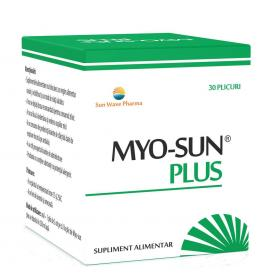 Myo Sun Plus, 30 plicuri, Sun Wave Pharma