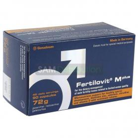 Fertilovit M Plus, 90 capsule, Gonadosan