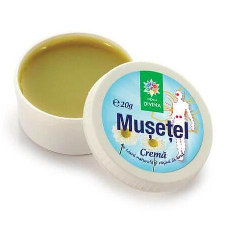 Crema de musetel, 20 g, Steaua Divina