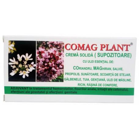 Supozitoare hemoroizi, Comag Plant, 10 bucati, Elzin Plant