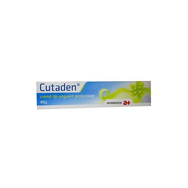 Cutaden crema tip unguent, 40 g, Antibiotice SA