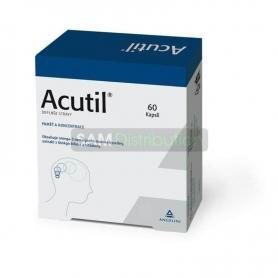 Acutil, 60 capsule pentru memorie si concentrare, Angelini
