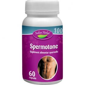 Spermotone, 60 capsule, Indian Herbal