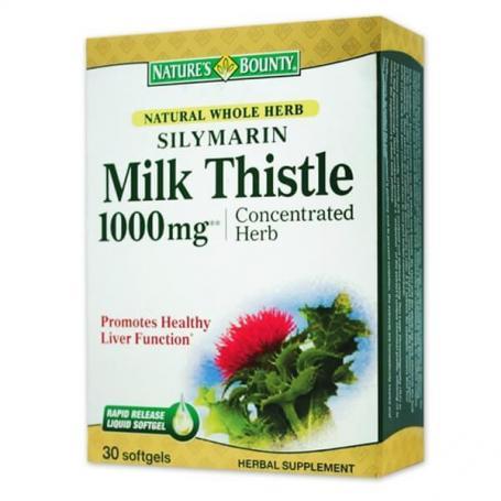 Silymarin Milk Thistle, 1000mg, NB 30cps, Walmark