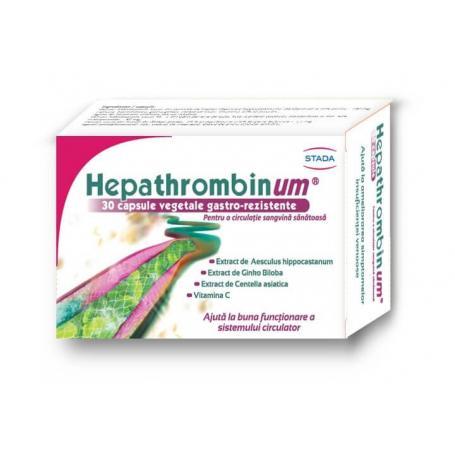 Hepathrombinum, 30 capsule, Stada