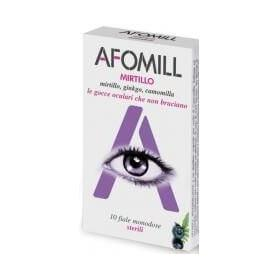 Afomill afine Fortifiant 10 fiole x 0,5 ml
