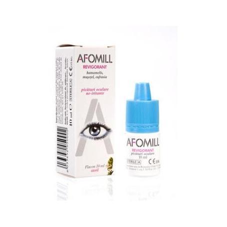 Afomill revigorant (picaturi de ochi obositi si suprasolicitati), 10 ml