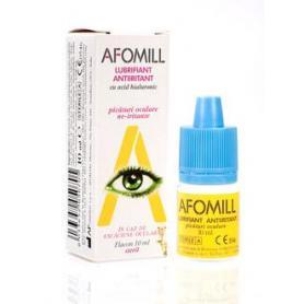 Afomill Lubrifiant (picaturi oculare lubrifiante cu acid hialuronic), 10 ml