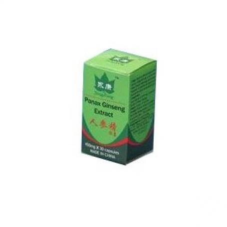 Panax Ginseng, 30 capsule, Sanye Intercom