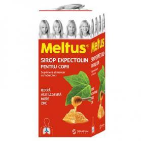Sirop expectolin pentru copii Meltus, 100 ml, Solacium