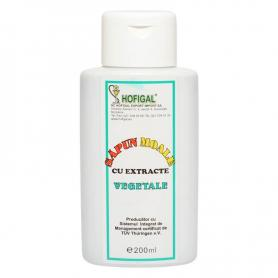 Sapun moale vegetal, 200ml, Hofigal