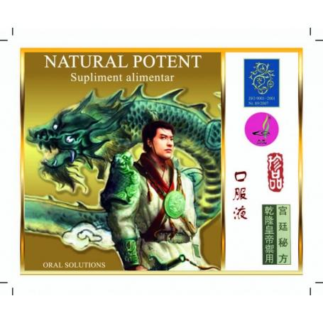 Natural Potent, 4 fiole