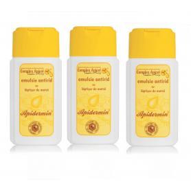 Apidermin emulsie antirid cu laptisor de matca, 100ml (3buc pachet economic)