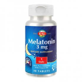 Melatonin 3mg, 30 capsule, Secom Kal