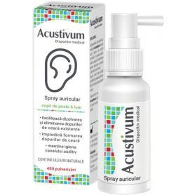Acustivum, 20 ml, spray pentru urechi, Zdrovit