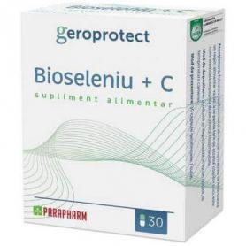 Bioseleniu + Vitamina C, 30 capsule, Parapharm