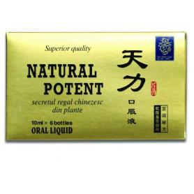 Natural Potent 6 fiole 10 ml, China