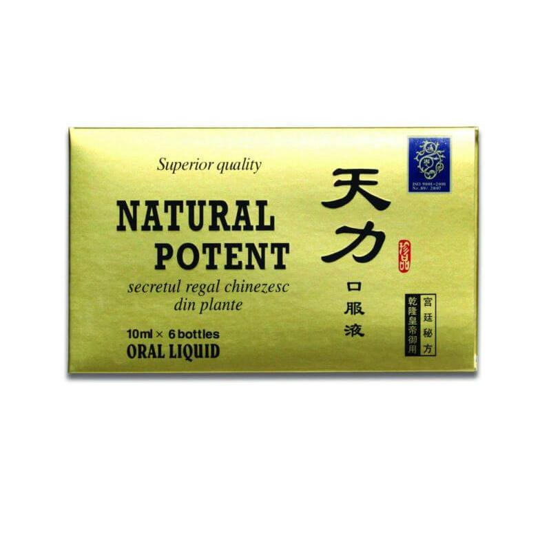 Natural Potent 6 fiole 10 ml, China