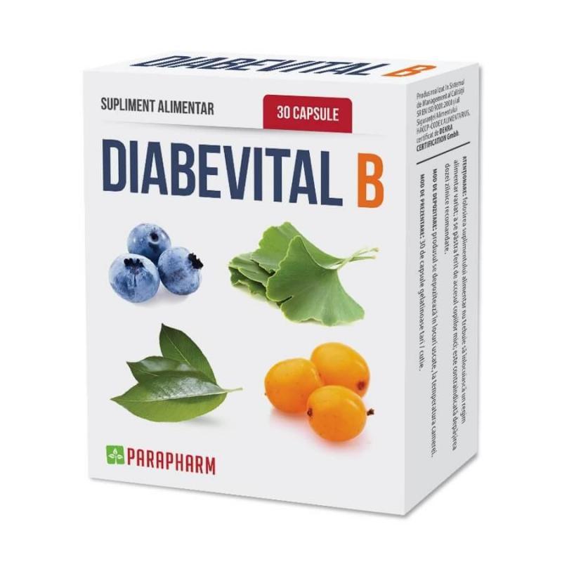 Diabevital B 30cps Parapharm