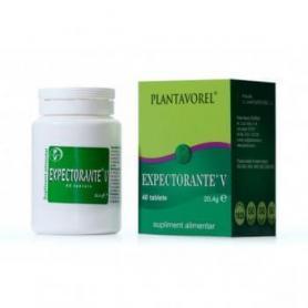 Expectorante V, 40 tablete, Plantavorel