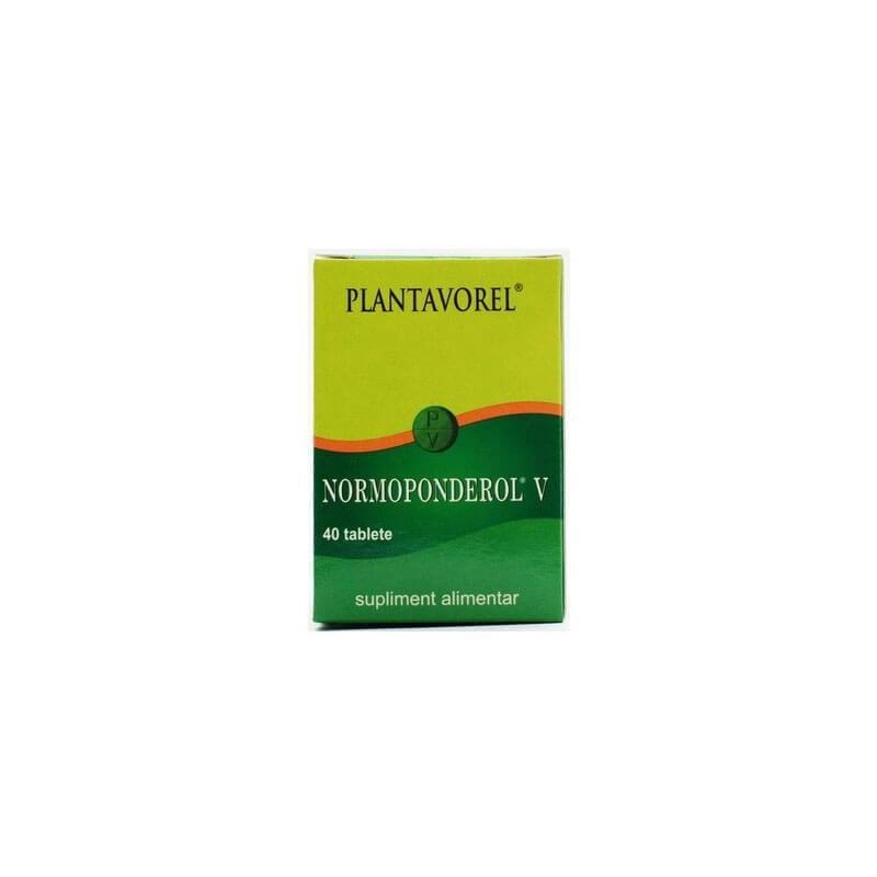 Normoponderol V, 40 tablete, Plantavorel