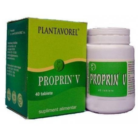 Proprin V, 40 tablete, Plantavorel