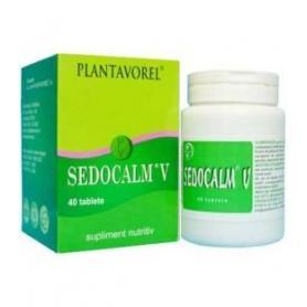 Sedocalm V, 40 tablete, Plantavorel