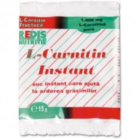 L-Carnitin Instant 1000mg, 15 g (pret, prospect) Redis Nutritie