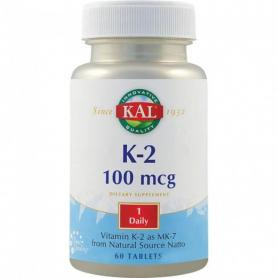 Vitamin K2 100mcg, 60 tablete, Secom