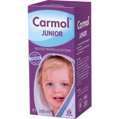 Carmol Junior, 100 ml solutie uz extern, Biofarm