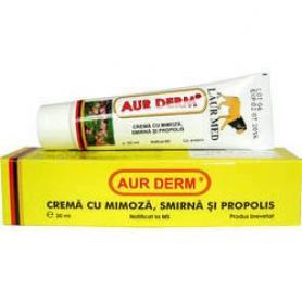 Crema mimoza, smirna si propolis, Aur Derm, 30 ml, Laur Med