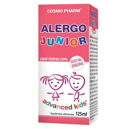 Alergo Junior sirop pentru copii, 125 ml, Cosmopharm