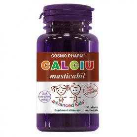 Calciu Masticabil, 30 capsule (pret, prospect) Cosmopharm