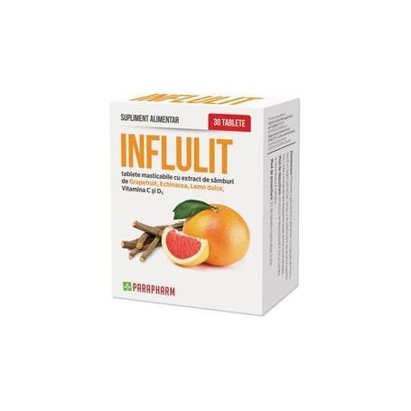 Influlit, 30 comprimate, Parapharm