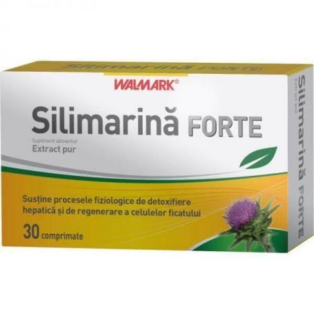Silimarina Forte, 30 comprimate, Walmark