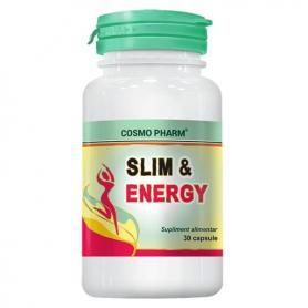 Slim & Energy, 30 capsule, Cosmopharm
