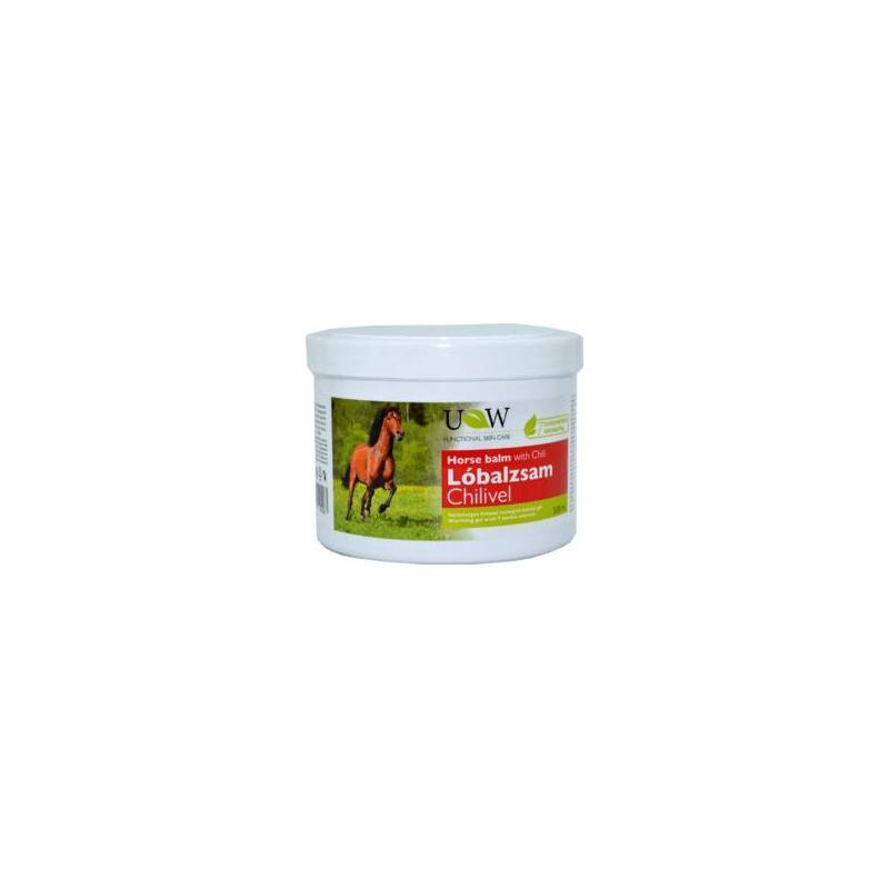 Balsam Puterea Calului cu Chili, 500ml, Herbavit