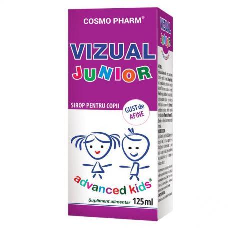 Vizual Junior sirop pentru copii, 125 ml (pret, prospect) Cosmopharm