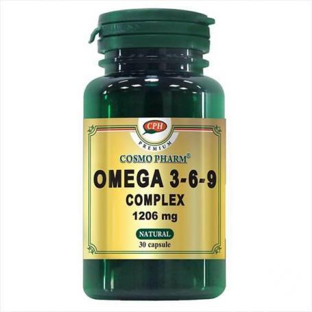 Omega 3-6-9 Complex Premium 1206 mg, 60 capsule, Cosmopharm