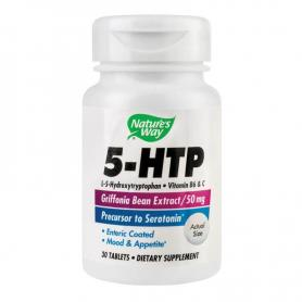 5-HTP, 30 tablete (pret, prospect) Secom (Nature's Way)
