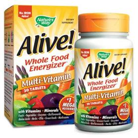 Alive Secom, energie imunitate, 30 tablete (pret, prospect) Nature's Way