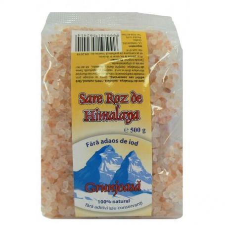 Sare grunjoasa de Himalaya, 500gr, Herbavit,Produse Alimentare Bio