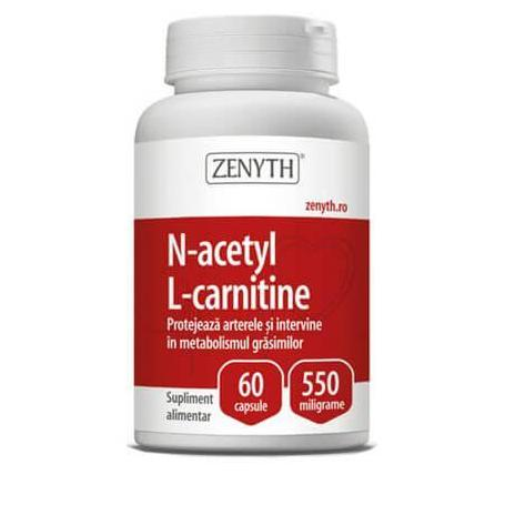 N Acetyl LCysteine, 60 capsule, Zenyth
