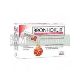 Bronhoklir pentru tuse uscata,15 plicuri, Stada