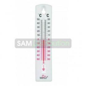 Termometru de camera, suport plastic, Minut Temp